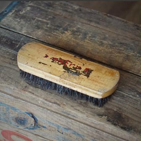 50s ヴィンテージ 木製シューブラシ