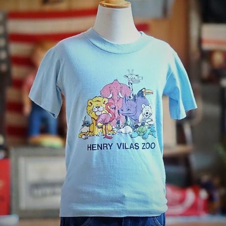 ヴィンテージキッズTシャツ(HENRY VILAS ZOO)