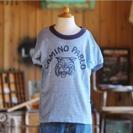 70s ヴィンテージ キッズ リンガー Tシャツ 古着 子供服