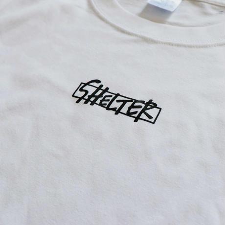 SHELTER Logo Tee (WHT)
