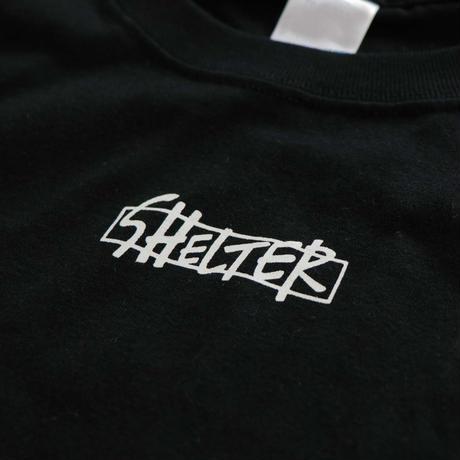 SHELTER Logo Tee(BLK)