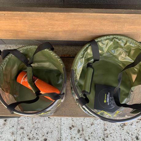 Ridge Monkey パースペクティブ折りたたみバケツ 15Lサイズ