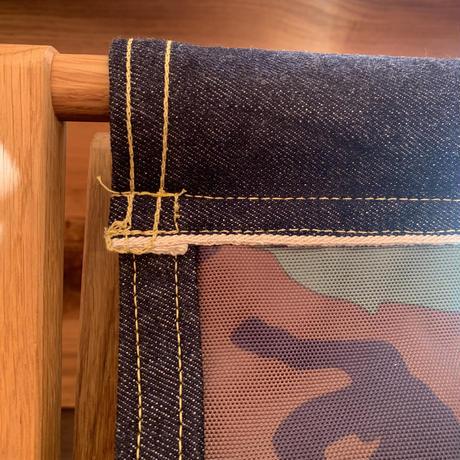Teaboy ✖️ Tivoli Woodworks フォールディングチェア デニムandミリタリー
