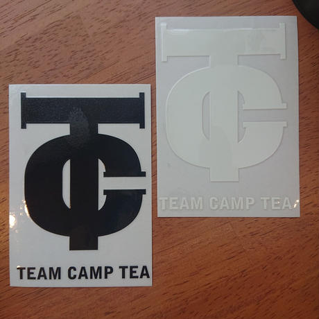 TEAM CAMP TEA CTマーク カッティングステッカー
