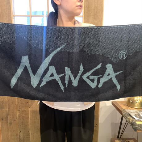 今治産 NANGA LOGO FACE TOWEL ナンガロゴ フェイスタオ