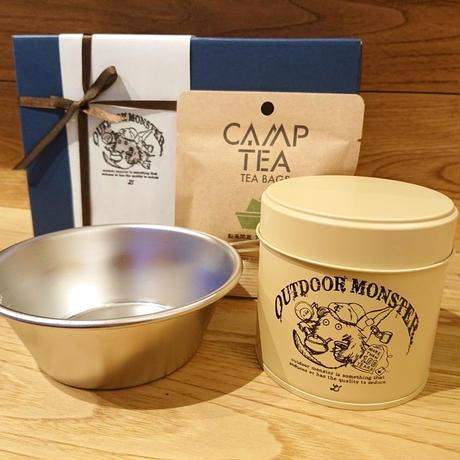 GIFT BOX 茶缶×シェラカップ×CAMP TEA