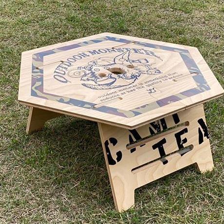 【受注生産】  TEABOY ヘキサテーブル【お茶子】