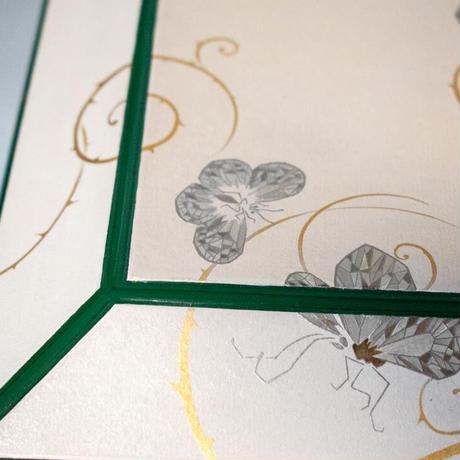 Food Basket - Butterflies and Flowers 食籠 蝶や花や