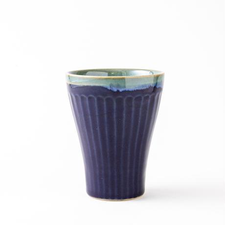 鎬ロングカップ (瑠璃釉)024v