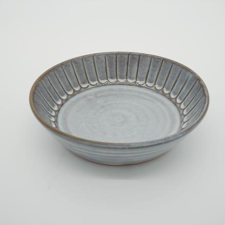リム皿(白釉)