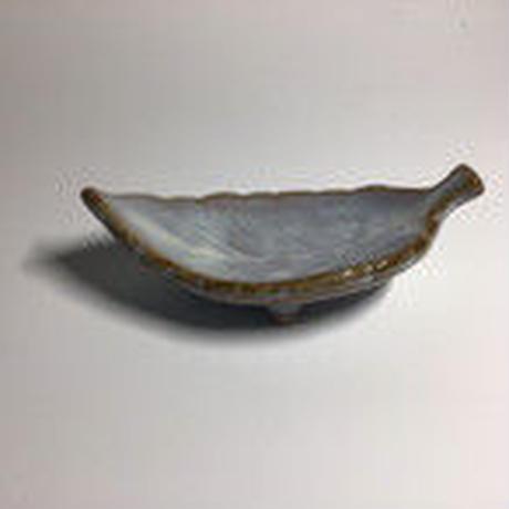 リーフ皿 (白)063w