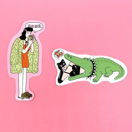 中島ミドリ STRANGE GIRLS #1/ステッカーセット