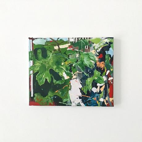 竹下昇平「花壇の葉」