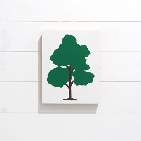 しんご パネル作品(小)「木」
