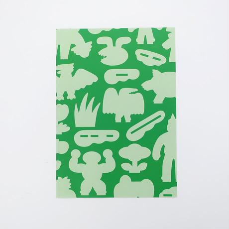 PENGO ペラペラペーパー包装紙6枚入り(ペコ3しんご3)