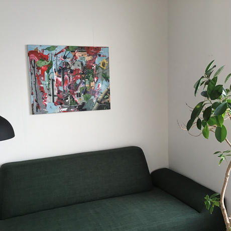 竹下昇平「ヒマワリのある風景」