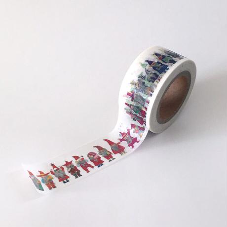 おがわようこ06 『こびとかな』マスキングテープ