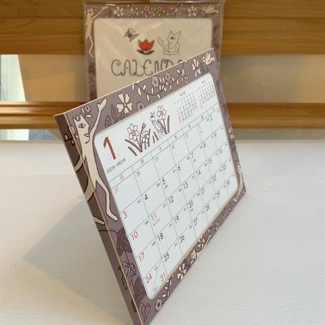 山口マオ・2021卓上カレンダー