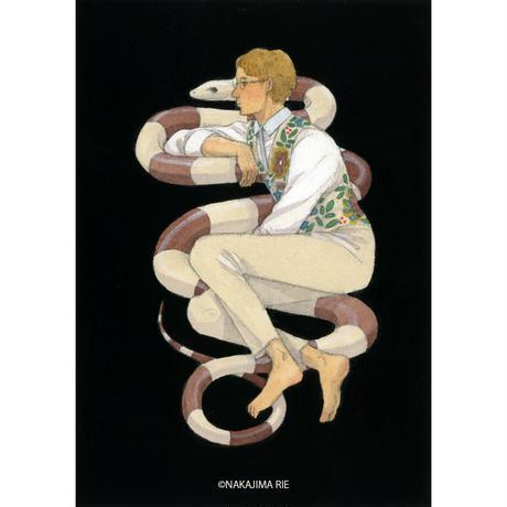 中島梨絵 05「蛇と男」