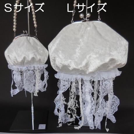 14 クラゲバッグ Sサイズ 白/黒