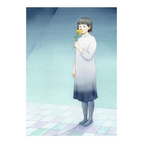 8「たたずむ -花-」