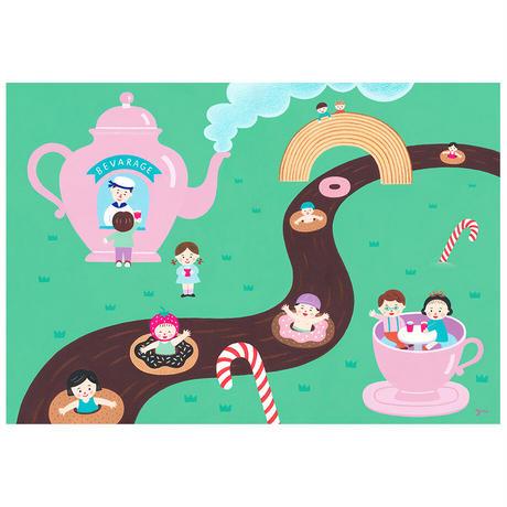 秋永 悠 03「チョコレートのかわくだり」