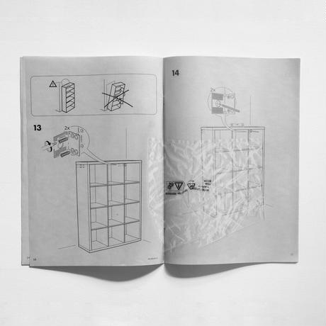 Printed matter (Assembly instruction, IKEA KALLAX)