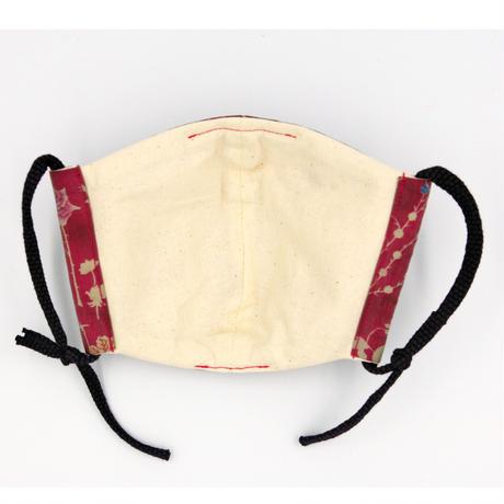 ピンクの森にテントウムシマスク(綿入り)