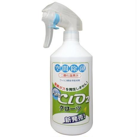 二酸化塩素ジェル クローツ スプレータイプ500ml