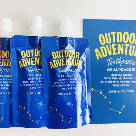【オーラルピース贈物セット アウトドアアドベンチャー   登山やアウトドアが好きな方に   オーラルピースをお届けします】オーラルピース アウトドアアドベンチャー 3アイテム贈物セット