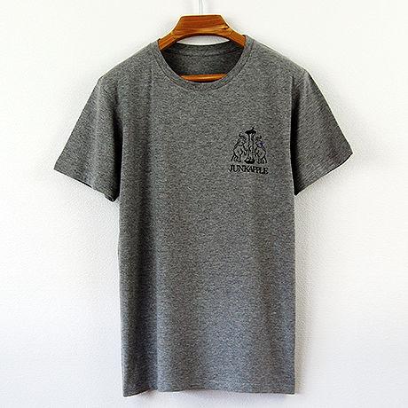 印図Tシャツ/スリムシルエット