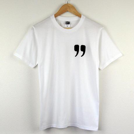 引用符Tシャツ/スタンダードシルエット