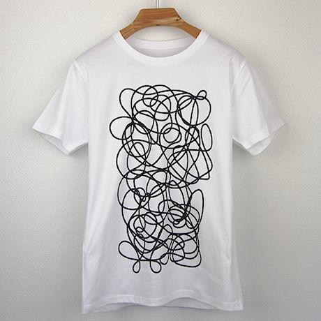 癇癪(かんしゃく)図Tシャツ/スリムシルエット
