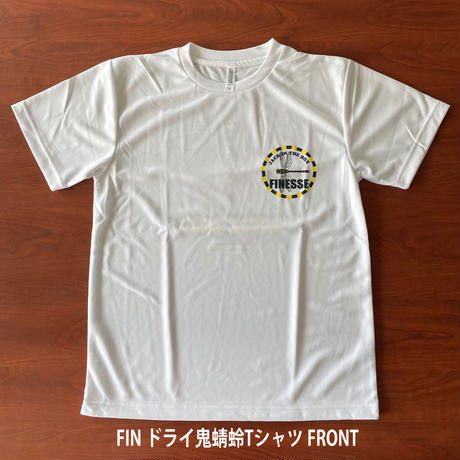 FIN ドライ鬼蜻蛉Tシャツ