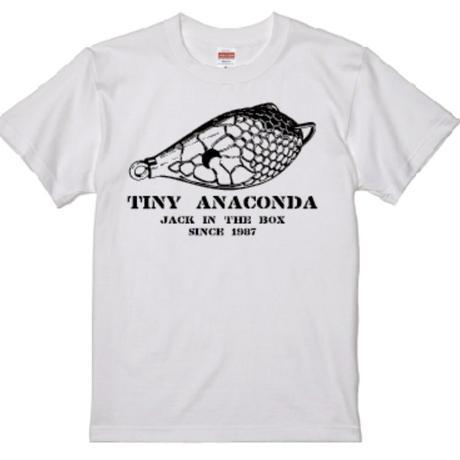 コットンTシャツ タイニーアナコンダ