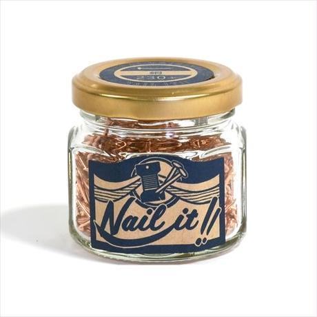 銅釘 <瓶230本入 17×19>  Copper Nail<contains 230>