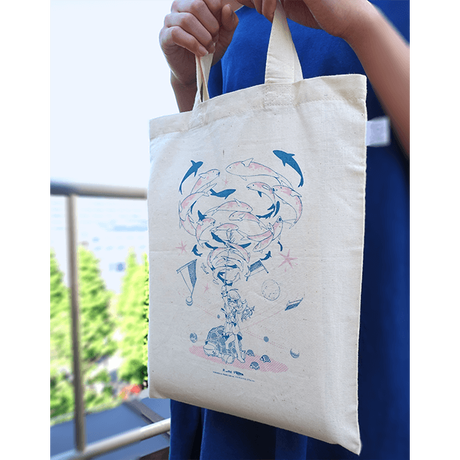 "sasakure.UK ""ANTI-GRAVITIES"" ECO BAG"