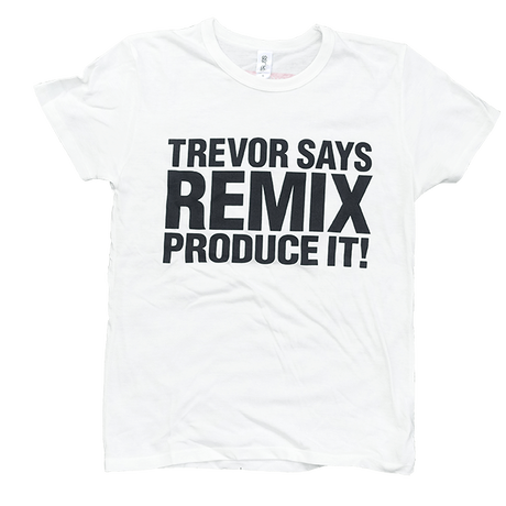 TREVOR HORN REMIX T-SHIRT (WHITE)