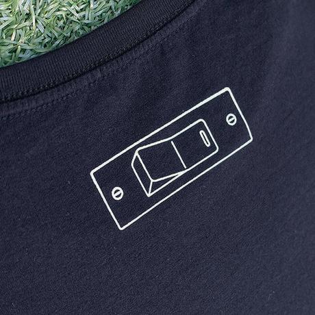 """sasakure.UK - """"Kokoro Pokkari"""" T-shirt(Navy  Men's)"""