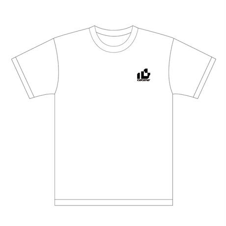 "ohayo gozaimas × PinocchioP × A lawyer kathy co ""心 -cocoro-"" T-shirts(White)"