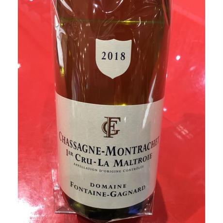 Chassagnr-Montrachet 1ER  Maltroie B 2018/Fontaine-Gagnard シャサーニュ・M 1er マルトロワ・B 2018/フォンテーヌ・ガニャール