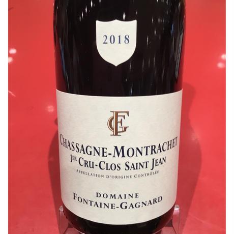 Chassagnr-Montrachet 1er  Clos Saint-Jean R 2018/Fontaine-Gagnard  1er クロ・サン・ジャン /フォンテーヌ・ガニャール