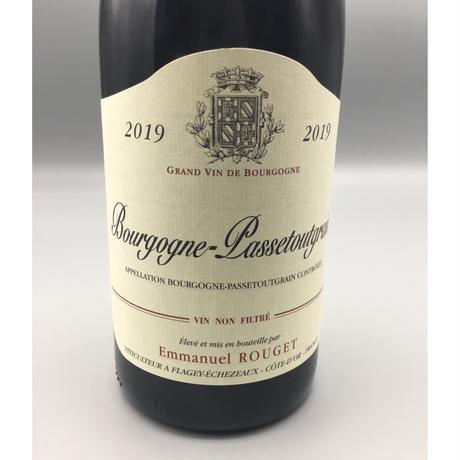 条件付Bourgogne Passetoutgrain 2019 / Emmanuel Rouget ブルゴーニュ・パストゥーグラン エマニュエル・ルジェ