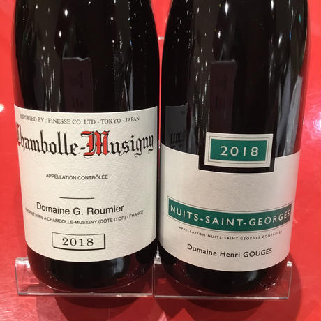 Chambolle Musigny 2018&Nuits-Saint-Georges 2018 G Roumier&H Gougesジョルジュ・ルーミエ &アンリ・グージュセット(条件付)