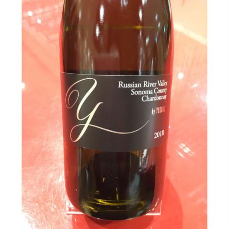 Chardonnay Russian River Valley Sonoma County 2018  シャルドネ ロシアン・リヴァー・ヴァレー ソノマ・カウンティ ワイ・バイ・ヨシキ
