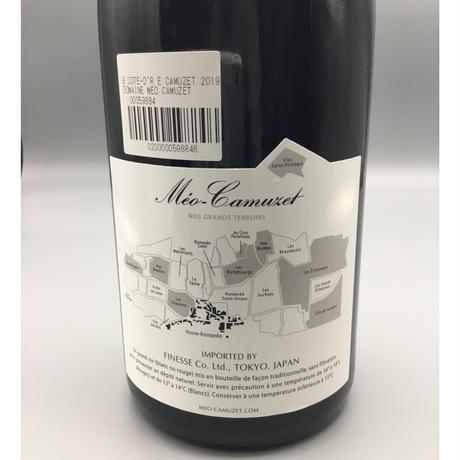 Bourgogne Cote D'or Cuvee Étienne Camuzet 2019/ Domaine Meo Camuzet キュヴェ・エティエンヌ・カミュゼ/ドメーヌ・メオ・カミュゼ