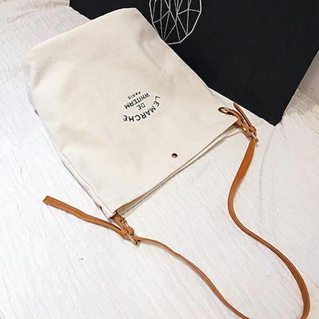 女性のキャンバスバッグアーポータブルバッグポータブルグリーンワンショルダーのショッピングバッグ