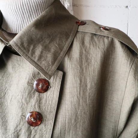 Double Lapel Trench Coat KA