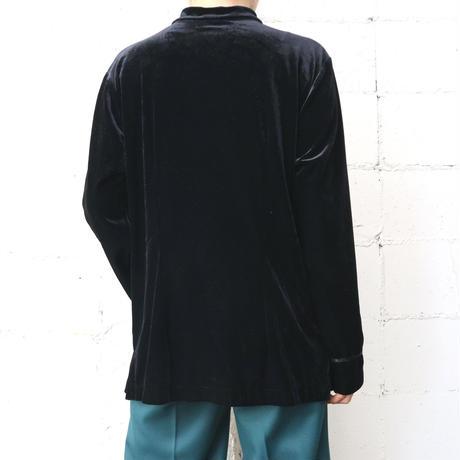 Velour China Shirt BK