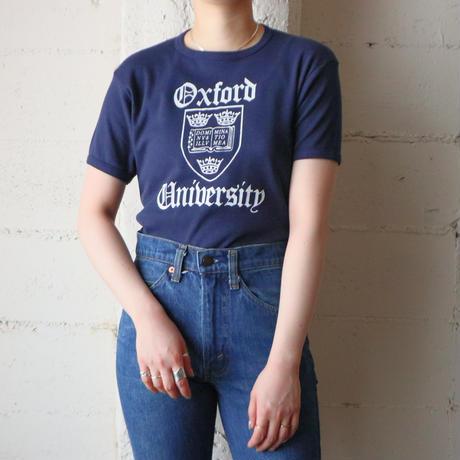 ''Oxford University'' Print Tee
